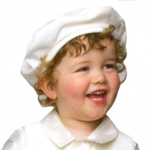 Little Darlings H6147 Ivory Velvet Hat to match Harrison IVORY