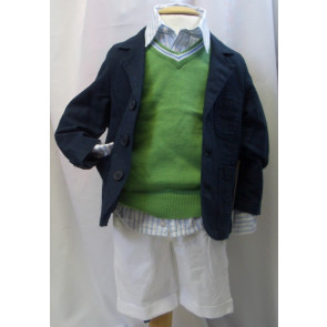 Mayoral 27300 Boy Navy Blazer Jacket