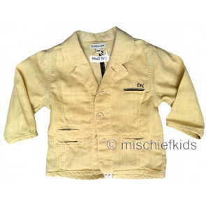 Eliane et Lena 27706 Boys Sample Buttermilk Blazer Jacket BROUSSE