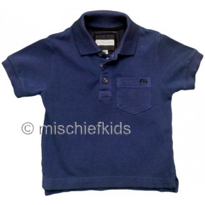 Eliane et Lena 27718 Boys Sample Indigo Polo Shirt HINDY GO