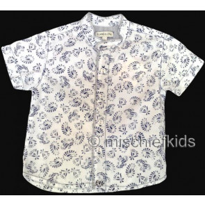 Eliane et Lena 27720 Boys Sample Paisley Shirt HINDY GO