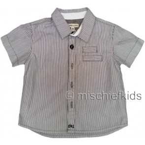 Eliane et Lena 27722 Boys Sample Fine Stripe Shirt HINDY GO