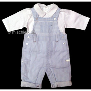 La Petite Ourse 27515 Sample Top and Dungaree Set GARCON