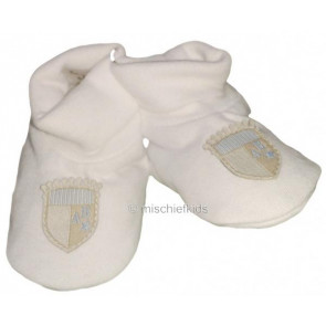 La Petite Ourse 27523 Sample White Booties GARCON
