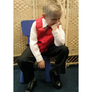OCCASIONS DANNY A408X Red Four Piece Waistcoat Suit