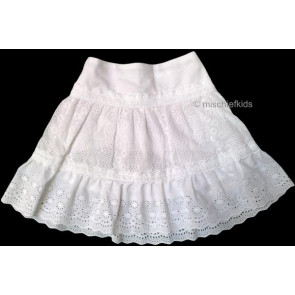 Mayoral 28633 Girls 2yr Sample Broiderie Anglaise Skirt