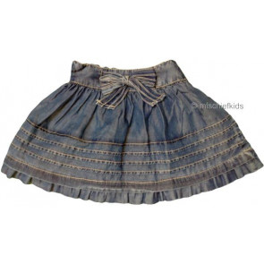 Mayoral 28639 Girls 2yr Sample Blue Skirt