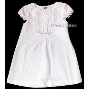 Mayoral 28654 Girls 2yr Sample Cream A-Line Dress