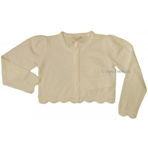 Mayoral 28666 Girls 2yr Sample Cream Knit Cardigan