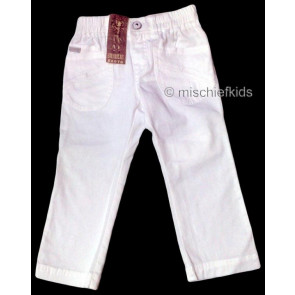 Mayoral 28669 Girls 2yr Sample White Trousers
