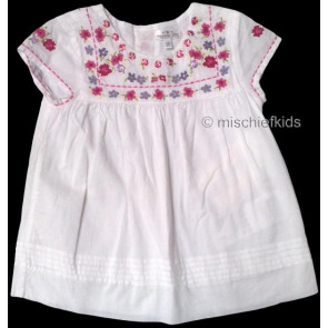 Mayoral 28683 Girls 2yr Sample White Cotton Top