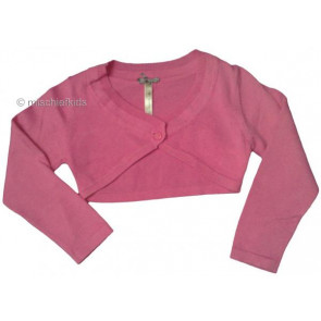 Mayoral 28686 Girls 2yr Sample Fuchsia Knit Bolero Cardigan