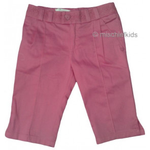 Mayoral 28689 Girls 2yr Sample Fuchsia Pink Crop Trousers
