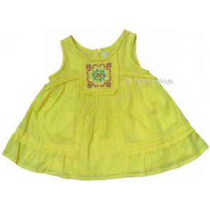 Mayoral 28694 Girls 2yr Sample Lemon Floaty Top