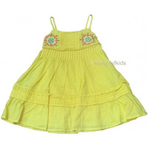 Mayoral 28696 Girls 2yr Sample Lemon Sun Dress
