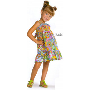 Mayoral 28698 Girls 2yr Sample Multi Print Dress