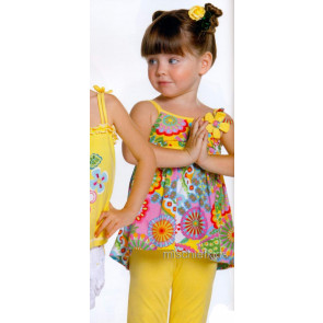 Mayoral 28699 Girls 2yr Sample Top n Lemon Crop Leggings