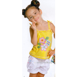 Mayoral 28701 Girls 2yr Sample Lemon Sun Top