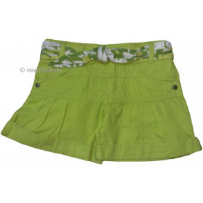 Mayoral 28709 Girls 2yr Sample Lime Shorts