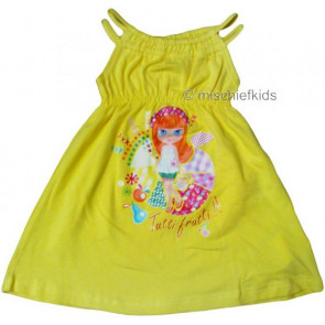 Mayoral 28728 Girls 2yr Sample Yellow Tutti Frutti Dress