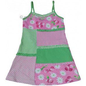 Mayoral 28730 Girls 2yr Sample Pink Cherry Beach Dress