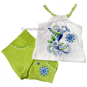 Mayoral 28732 Girls 2yr Sample Vest Lime