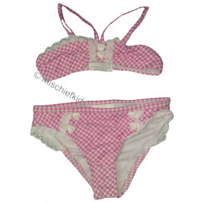 Mayoral 28736 Girls 2yr Sample Pink Gingham Bikini
