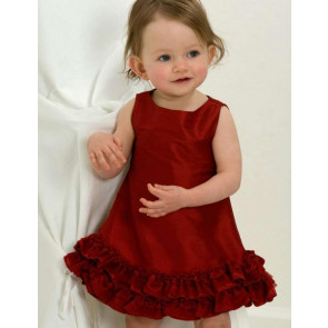 Kate Mack 29126 Red Sleeveless Dress