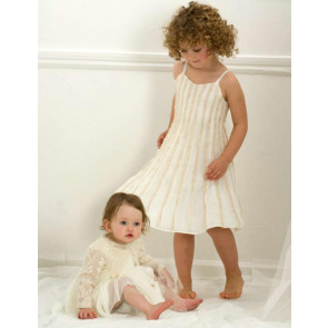 Kate Mack 29134 Ivory Sparkle Dress n Shrug