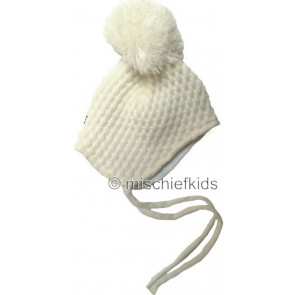 Satila DONNA and DONNY Unisex Baby Pom Hat CREAM