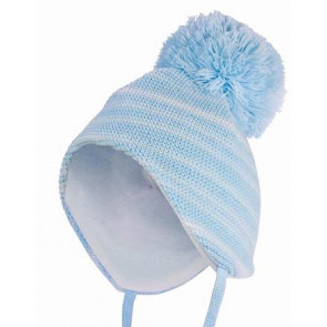 Satila BRIAN and BRIANA Baby Hat BLUE STRIPE or ALL WHITE