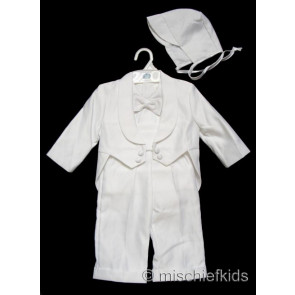 OCCASIONS JULIO White Boys Tuxedo style Suit