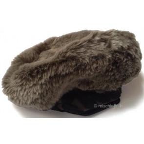 Eliane et Lena 29428 Sample Faux Fur Beret CIRCUS
