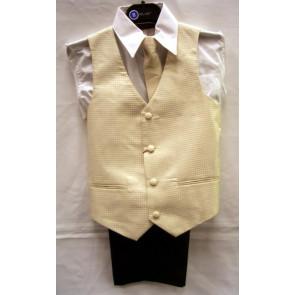 OCCASIONS FREDDIE Cream Four Piece Waistcoat Suit