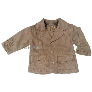 Eliane et Lena 31208 Boys Sample Beige Jacket  WAS £38.99 NOW £9.99