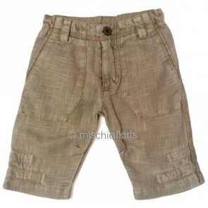 Eliane et Lena 31209 Boys Sample Beige Trousers DESERT