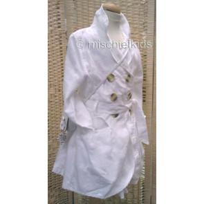 Eliane et Lena 31474 Sample Linen Jacket BLANC