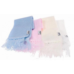 Satila COLIN and COLLINE Scarf in Blue Pink White Cream Navy or Red