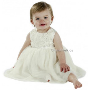 Little Darlings BS9011 ROSE Christening Dress