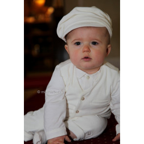 Emile et Rose 9452 Ivory Waistcoat, Shirt, Trouser and Hat Set