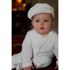 Emile et Rose 9452 Ivory Waistcoat, Shirt, Trouser and Hat Set