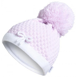 Satila of Sweden LISA Small Pom Pull On Hat PINK or WHITE