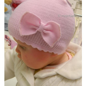 Satila Mary Pull On Bow Hat PINK