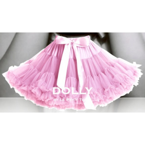 DOLLY Shirley Temple Baby Pink Tulle Pettiskirt Tutu Skirt