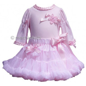 Little Darlings LD2003 Pink Tulle Pettiskirt and Top Set