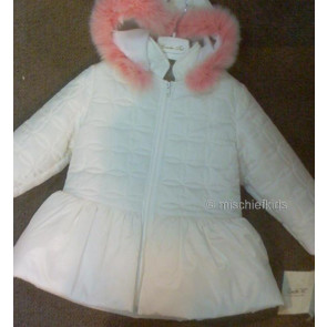 Couche Tot CTE1216 Faux Fur Trimmed Padded Jacket