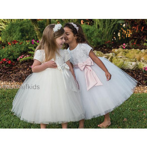 Sarah Louise 070034 SASHA Tulle Dress 10200 IVORY or WHITE