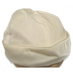 Collins and Hall CH230 Ivory Velvet Hat