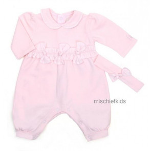 Emile et Rose E1518 BESSIE Girls Onesie Romper and Hairband