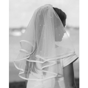 Sarah Louise 055003 White Communion Veil